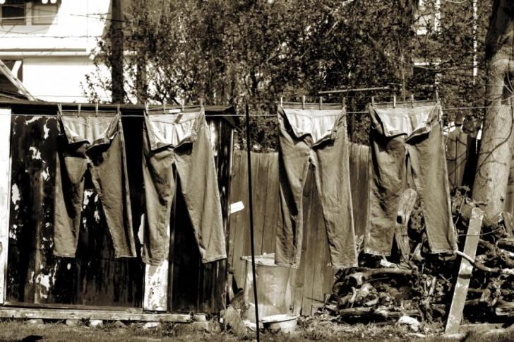 ジーンズ 洗濯