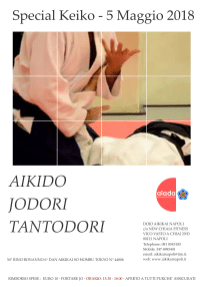 Keiko 5 Maggio 2018