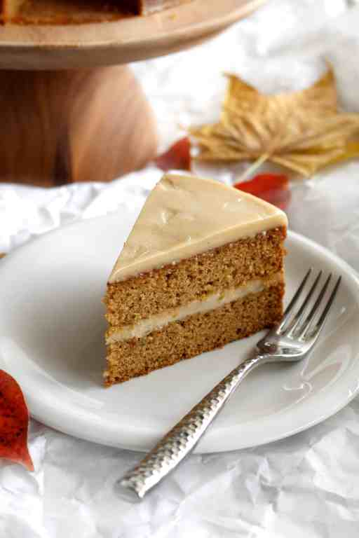 Awesome Sweet Potato Cake With Maple Cashew Frosting Ai Made It For You Personalised Birthday Cards Veneteletsinfo