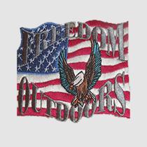 Embroidery Digitizing-Freedom