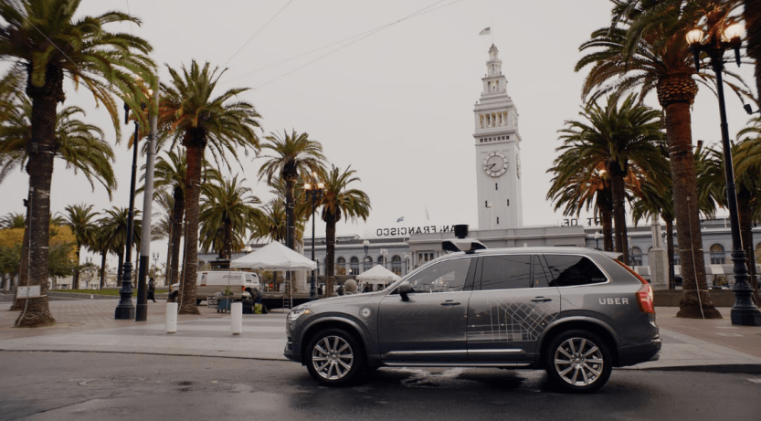 Uber Self-Driving Cars in San Francisco