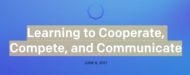 Learning to Cooperate, Compete, and Communicate