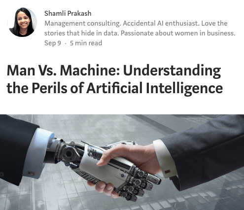 Artificial Intelligence Perils