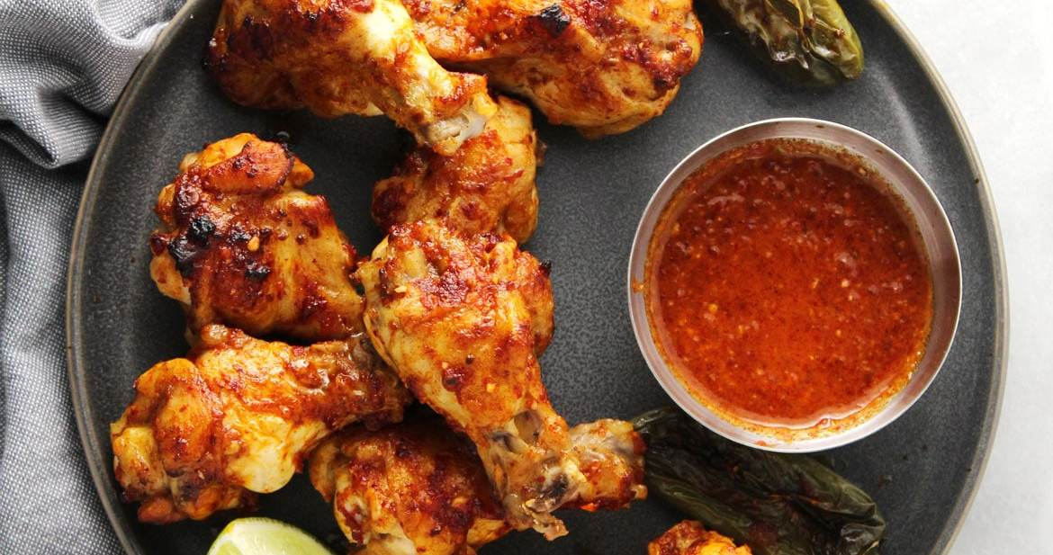 Chili Lime Baked Wings