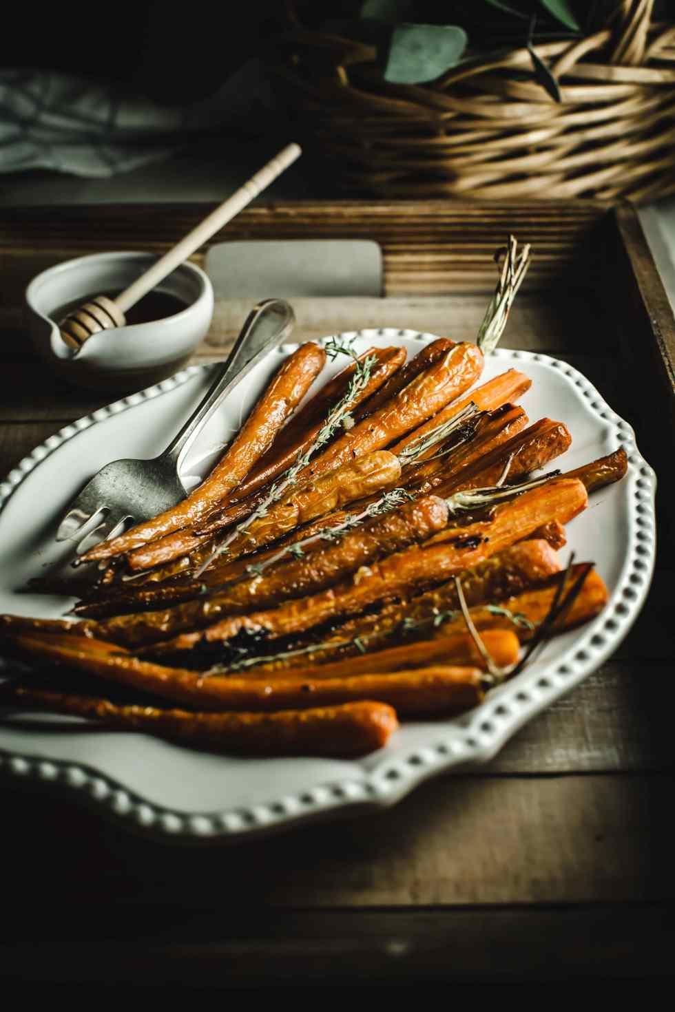 honey bourbon carrots