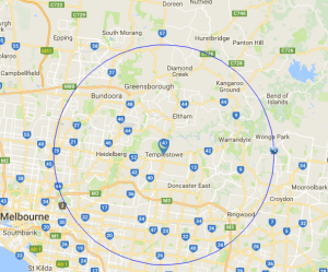 psychology psychologist home visit map melbourne