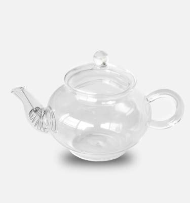 aimee provence glass tea pot