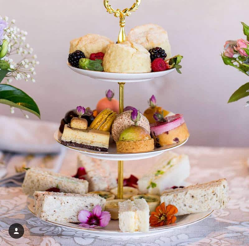 Luxe high tea aimee provence