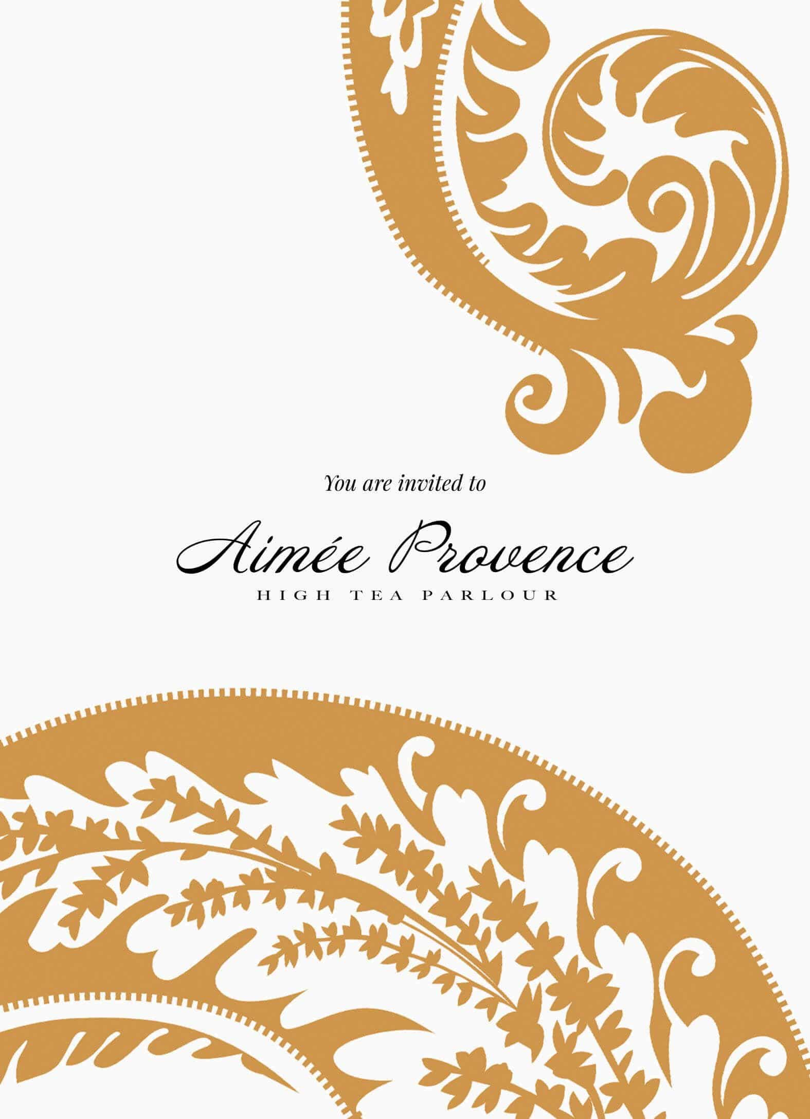 aimee provence invitations
