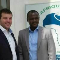 Visite de travail du directeur de la coopération de l'ambassade d'Allemagne mr Raphaël teck