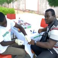 AIMES-AFRIQUE  organise une séance de sensibilisation et de dépistage gratuit à l'occasion du tournoi de football « Rencontre citoyenne »