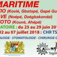 Mission médico-chirurgicale dans la Région Maritime du 25 juin au 07 juillet 2018