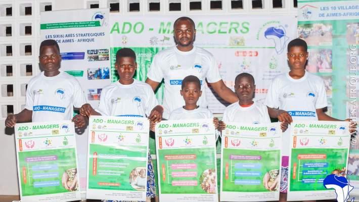 PROJET ADO-MANAGERS: Promotion de l'éducation de qualité à la base