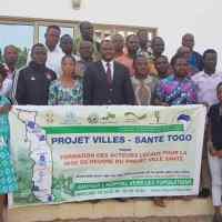 Mise en œuvre du Projet «Villes Santé» au Togo: Les journalistes togolais formés pour sensibiliser la population à inscrire la santé au cœur du développement durable.