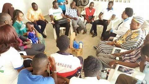 AIMES-AFRIQUE COTE D'IVOIRE a organisé une séance de vaccination gratuite contre la méningite A et C à Anyama