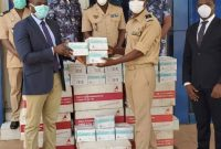 Coronavirus : AIMES-AFRIQUE offre des masques à la Gendarmerie, la TVT et la Prison civile de Lomé