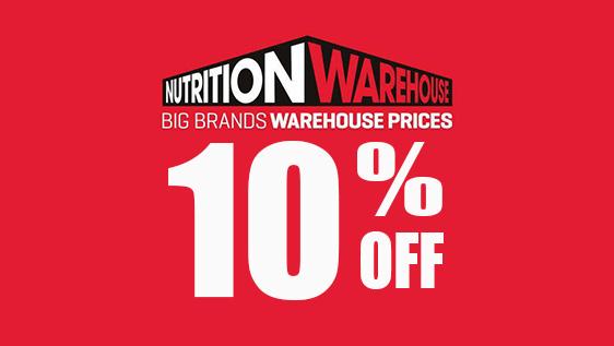 Nutrition Warehouse Promo