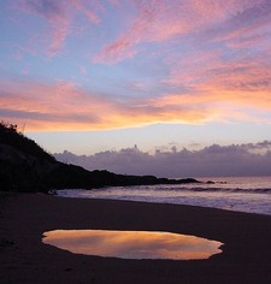Hawaii beach sunset - Honolua Beach, Maui Island