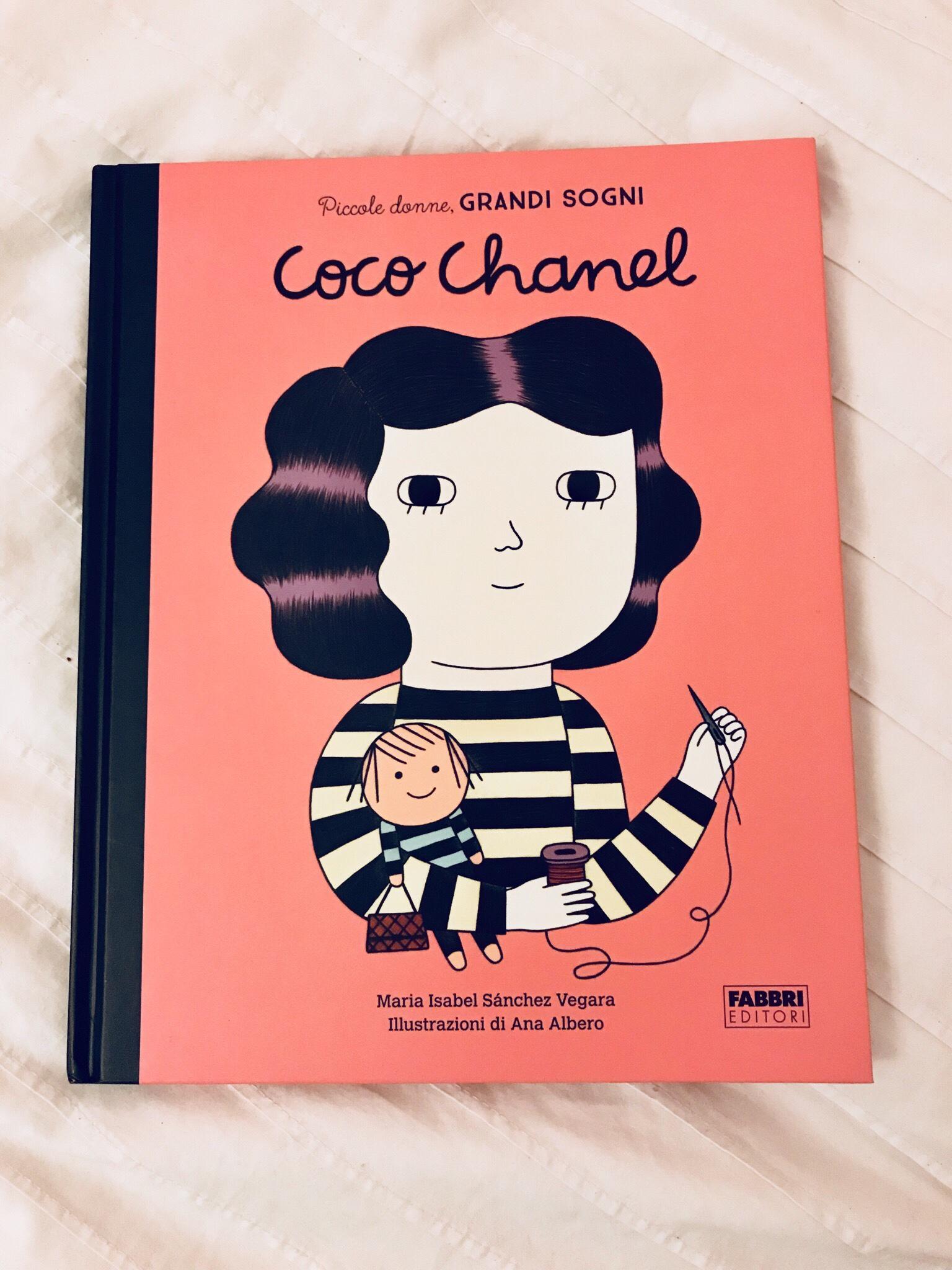 Vi consiglio un libro per bambini: Coco Chanel. Piccole donne, grandi sogni. Fabbri EDITORE