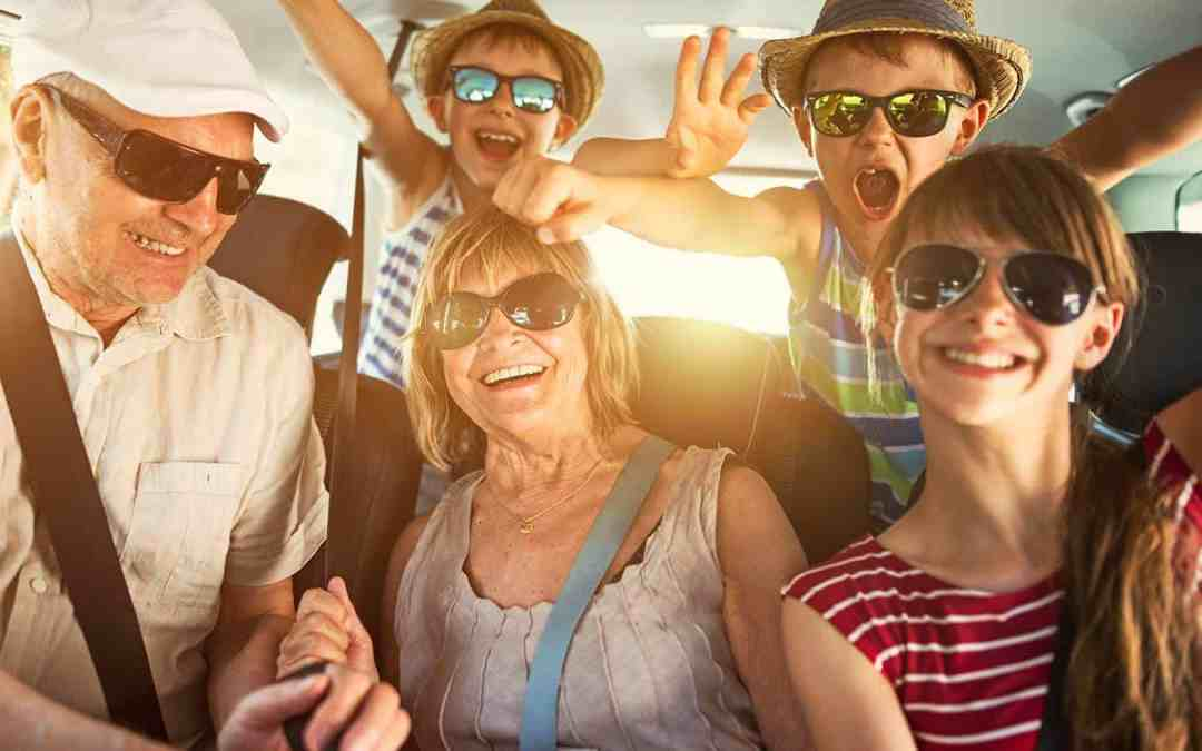 Tips for traveling with elderly parents.