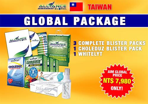 aim global taiwan package