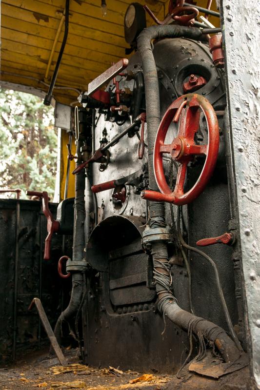 Ikatza aspaldi hartu gabeko motorea (Engine without coal)