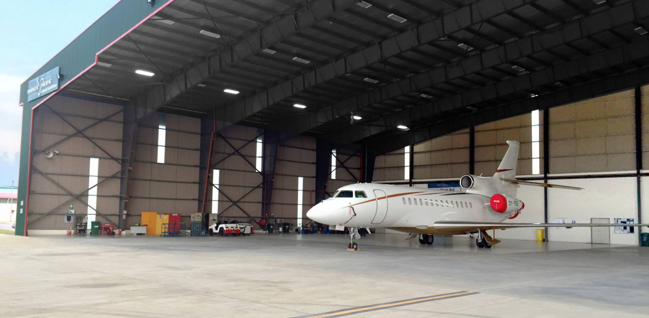 Hawker Pacific s Malaysian MRO Gets Dassault Nod   Business Aviation         strenghen s its Asian service network and provides additional support  to the Falcon customers using the Hawker Pacific location in Singapore