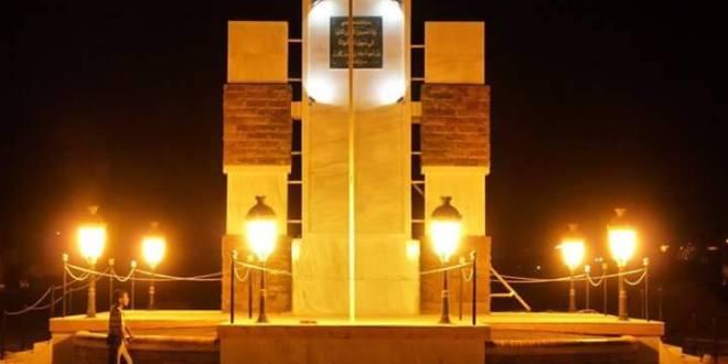 مدينة عين صالح من الجهة الغربية مجموعة كثبان رملية