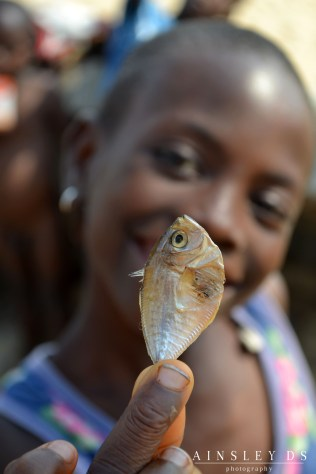 Fish is a popular food in Ghana. Travel Blog Ainsley about the world
