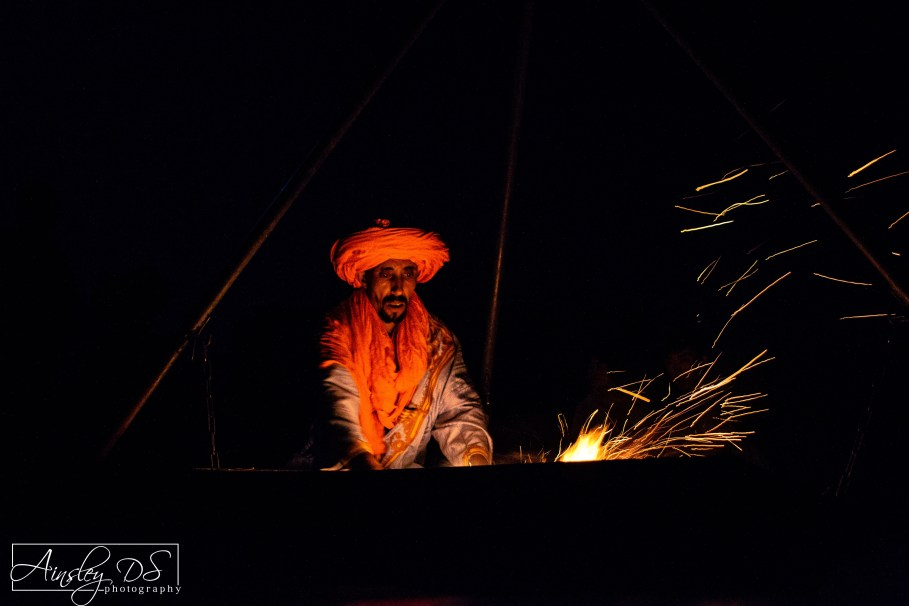 Nights around the campfire. Merzouga, The Sahara, travel blogger Ainsley About the world