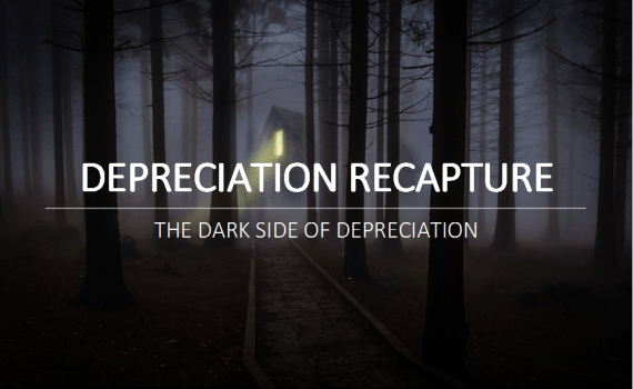 Nicholas Aiola, CPA - Depreciation Recapture: The Dark Side of Depreciation - Depreciation Recapture