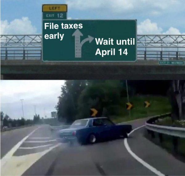 Nicholas Aiola, CPA - Tax Time Meme Dump - Freeway Meme