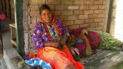 Foto de indígenas Tarahumaras (México)