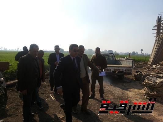 إقالة رئيس الوحدة المحلية ومدير الجمعية الزراعية بشبرا النخلة ببلبيس لإهدار الرقعة الزراعية