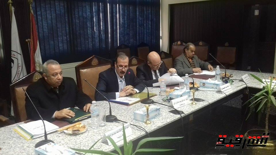 مجلس جامعة الزقازيق : دماء رجال الشرطة السبب فى إستعادة الأمن