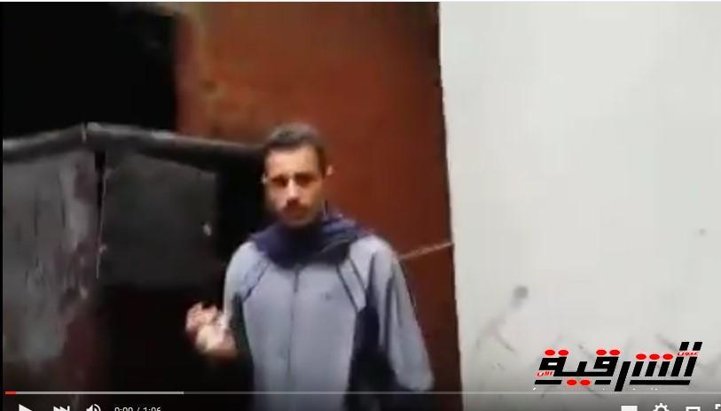 شاهد بالفيديو.. روايات أهالي قرية « المناصافور» عن حرائق الجن لمنازلهم