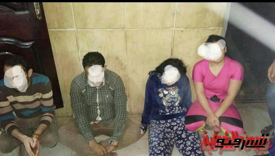 نيابة أبوكبير تقرر حبس المتهمين المضبوطين في وكر لممارسة الدعارة