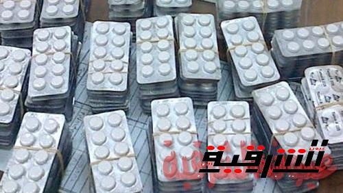 مباحث أبوحماد تضبط نصف مليون قرص من مخدر التامول