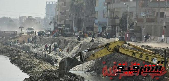 اللواء خالد سعيد محافظ الشرقية يطالب بتوسعة كوبري ترعة غزالي بفاقوس