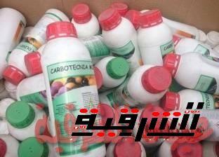 ضبط 1000عبوة من المبيدات الزراعية منتهية الصلاحية بمدينة الصالحية الجديدة