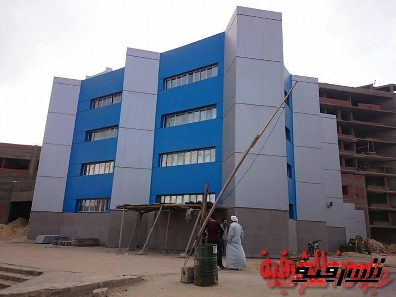 معهد الأورام الجديد مازال تحت الإنشاء بسبب الروتين