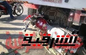 وفاة سائق وإصابة آخر في حادث تصادم بالشرقية