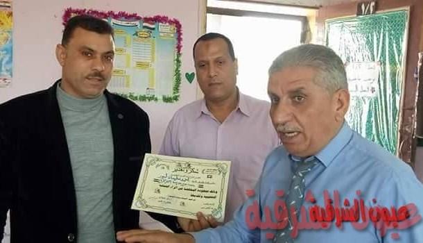 مدير الإدارة التعليمية يتابع سير العمل بمدارس منيا القمح