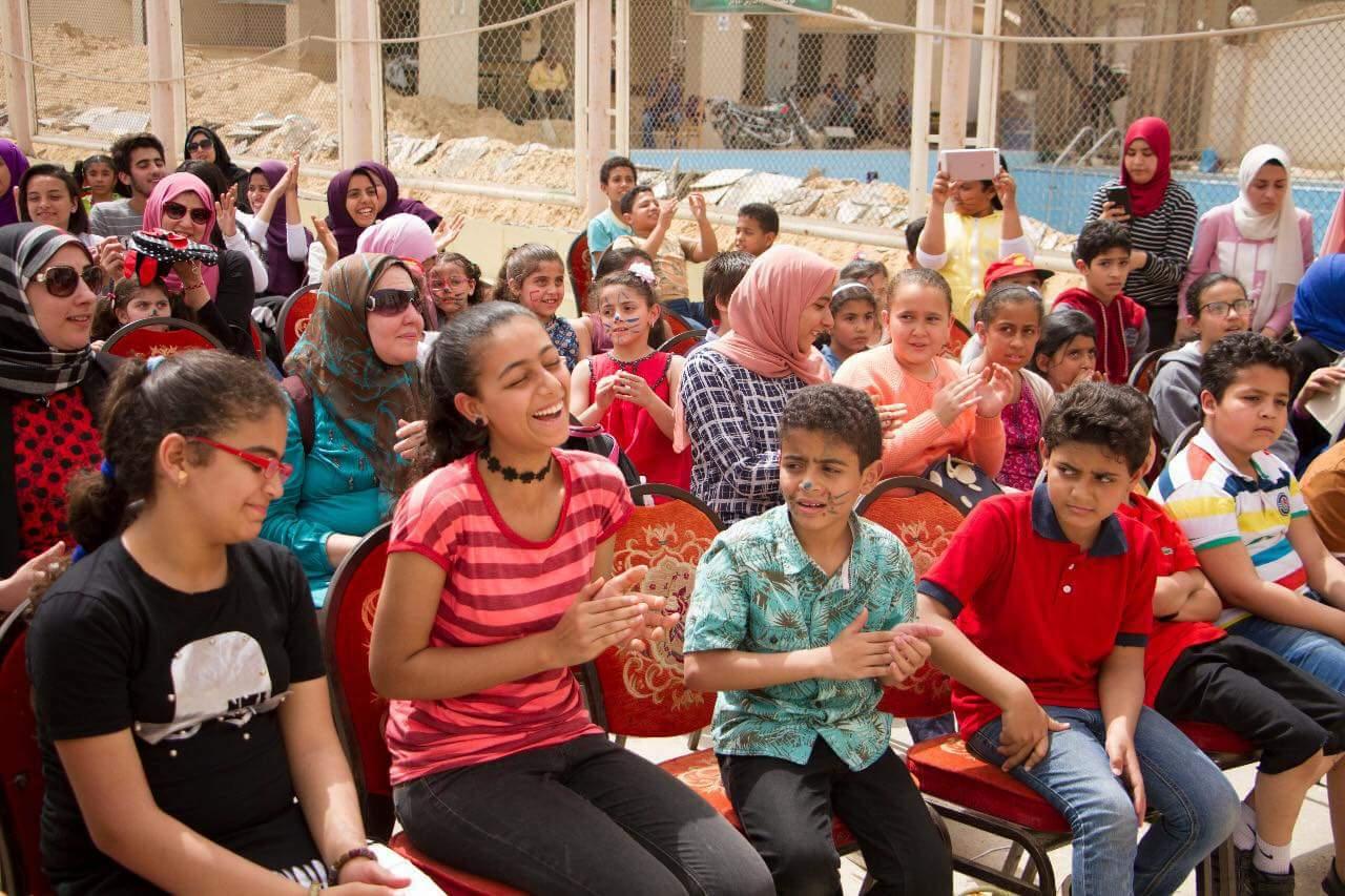 جمعية رؤيه وأكاديمية بدايه ونادي الأوائل يحتفلون بيوم اليتيم