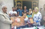 تكريم رسمى وشعبى فى أبو حماد لبطل سيناء بالعباسة الكبرى
