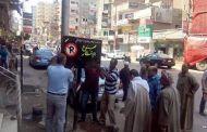 تعليق لافتات ارشادية بطرق مركز ديرب نجم