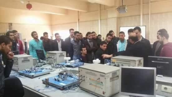 طلاب جامعة الزقازيق يواصلون التدريب الصيفي في الهيئة القومية للإنتاج الحربي حتي آخر أغسطس الجاري