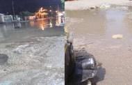 شوارع بلبيس تعوم علي برك من مياه الصرف الصحي وسط غياب المسؤلين