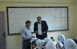 إداره بلبيس التعليمية تتابع سير العمل بمختلف المدارس