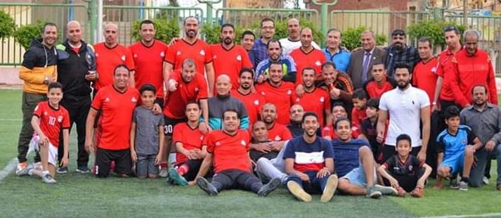 نهائى دورى الـ 40 سنة اليوم بمركز شباب ناصر